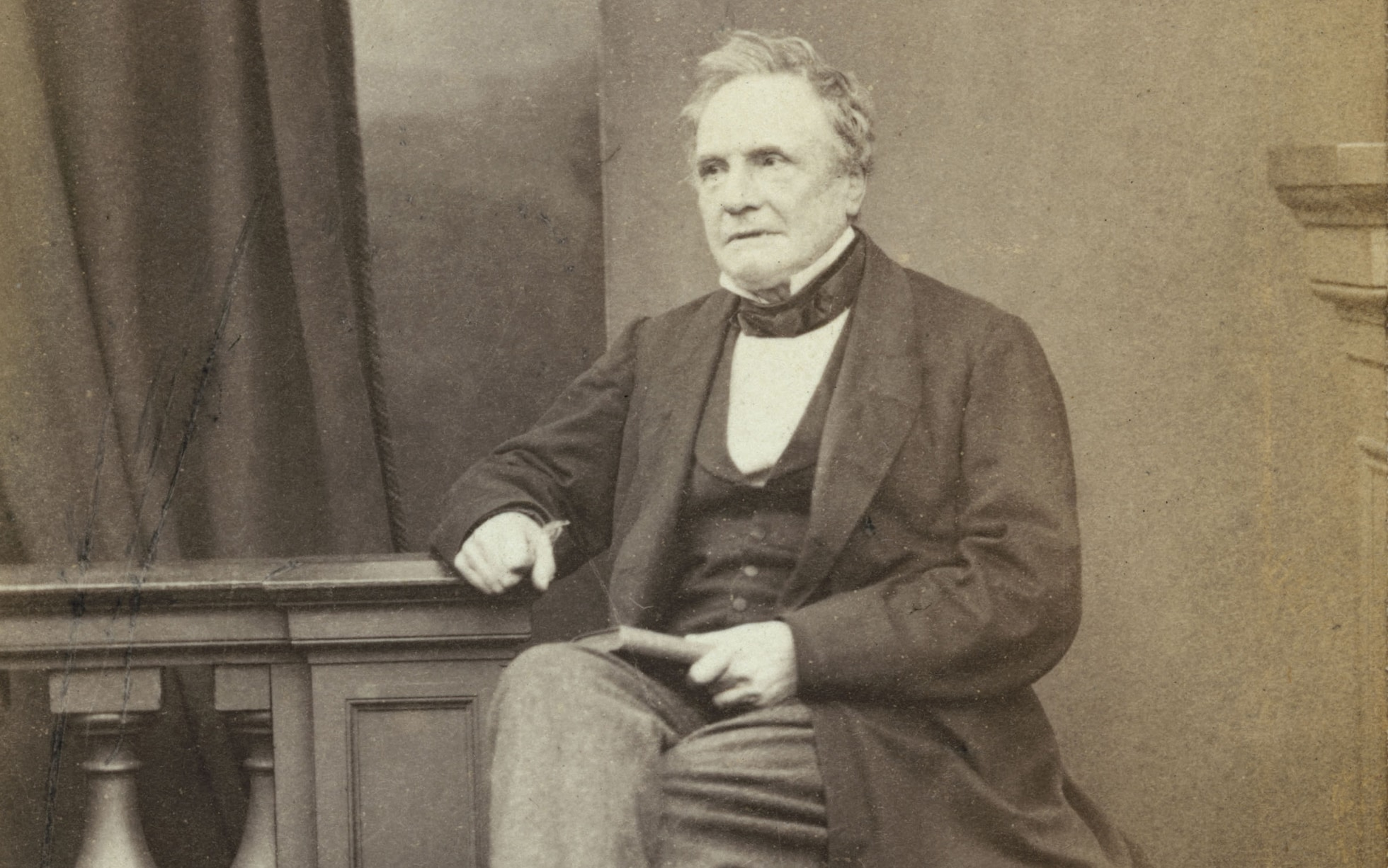 Charles Babbage. Foto: The Telegraph.
